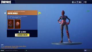 "FORTNITE SHOP HEUTE : ""ROTE RITTERIN"" Skin vom 9.08🛒 Fortnite Battle Royale Shop (9 August 2018"