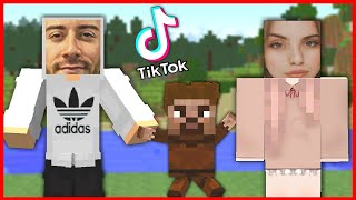 The best TIKTOK video maker wins in 24 hours! 😱 - Minecraft