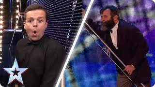 Vladimir Georgievsky FLIPS OUT! | BGT Unforgettable Auditions