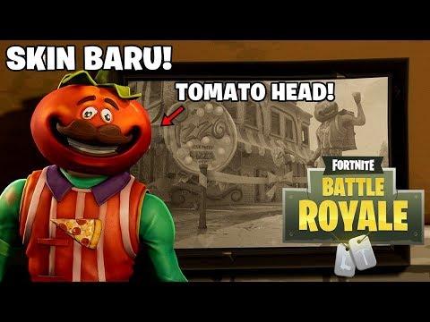 SKIN BARU! TUKANG PIZZA TOMAT! - Fortnite: Battle Royale (Indonesia)