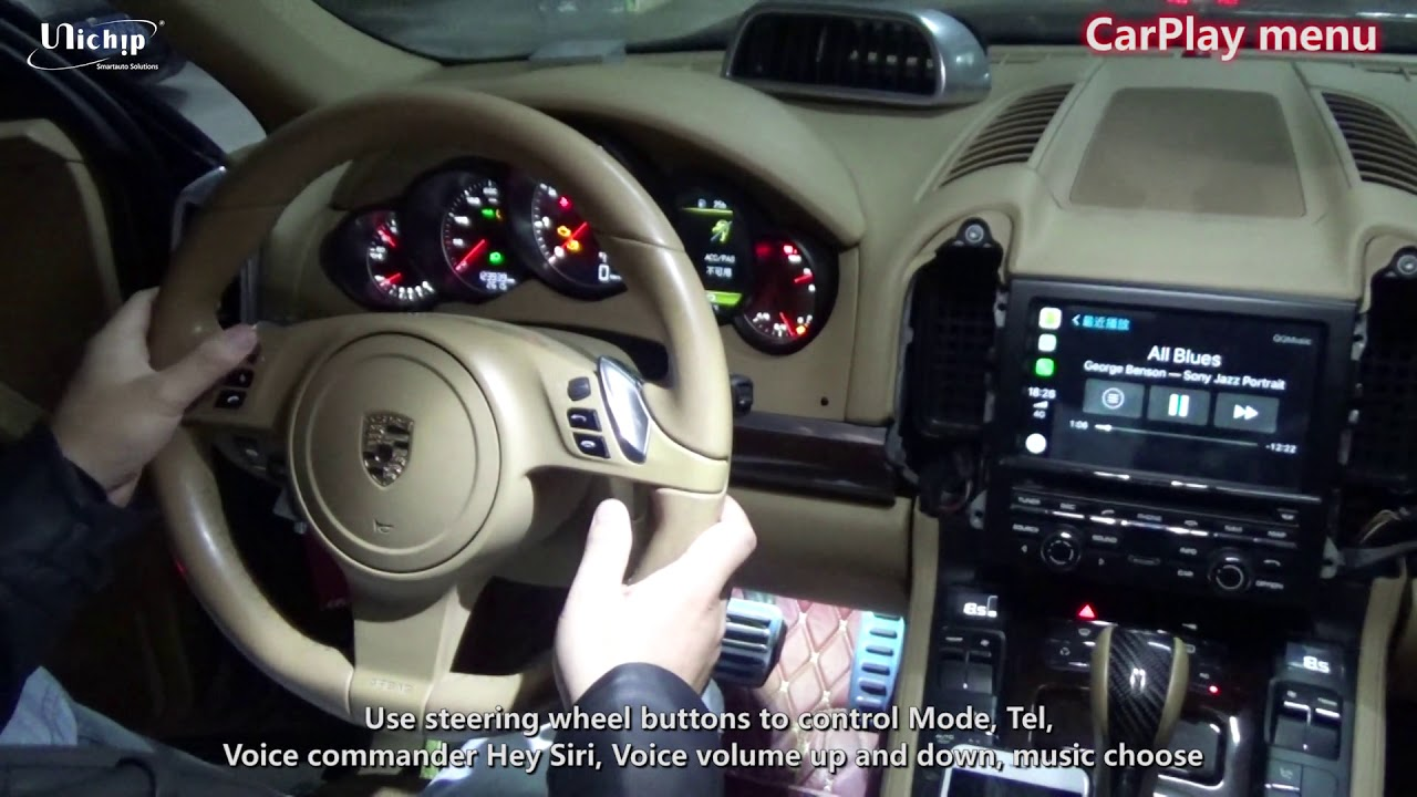 How To Retrofit Carplay For 2015 Cayenne Pcm3 1 Navi System Youtube