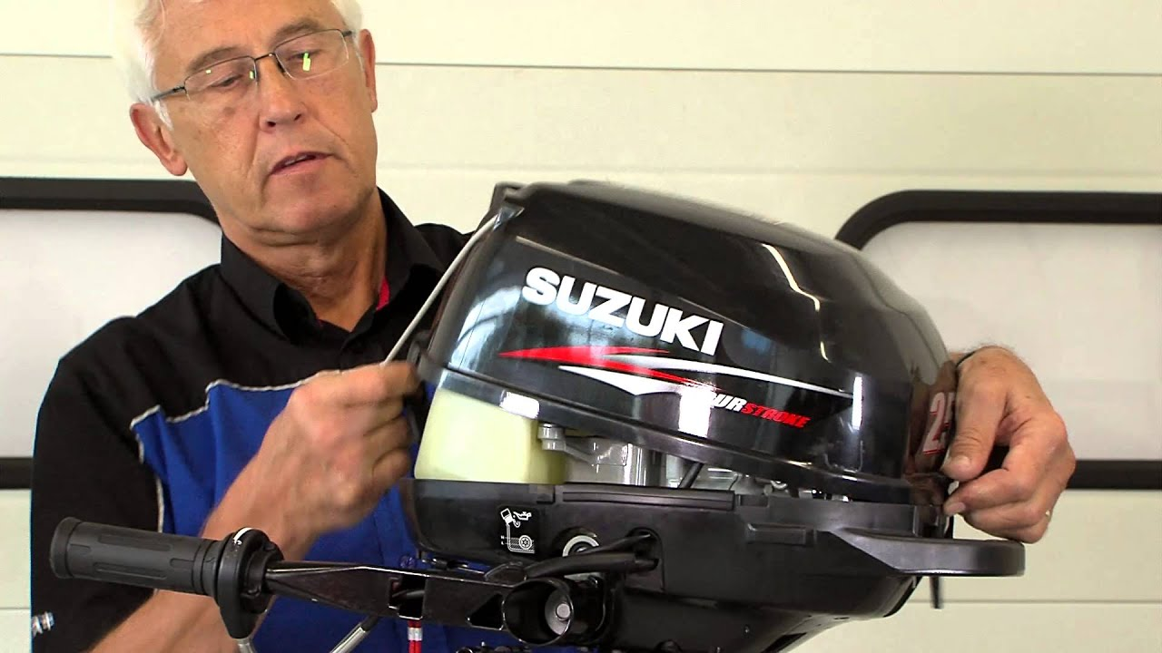 Top tips - removing the cowling (Suzuki portable outboards)