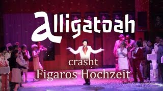 Alligatoah crasht Figaros Hochzeit