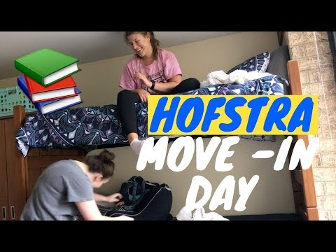 HOFSTRA UNIVERSITY MOVE-IN VLOG