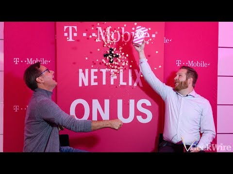 T-Mobile COO Mike Sievert discusses their new Netflix partnership
