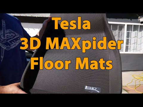 Tesla Model 3 | 3D MAXpider Floor Mats Review