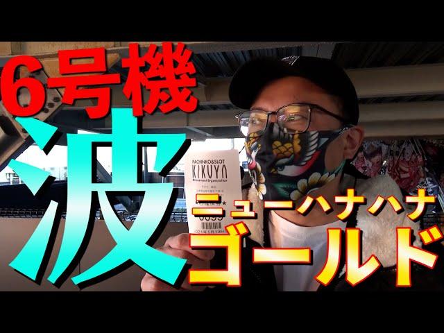 【ウシオ】【6号機ハナハナ】【岐阜】【ウシオフミー】キクヤ島店
