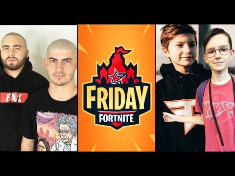 I'm Playing In Friday Fortnite Vs FAZE & TSM...