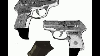 Garrison Grip - Magazine extension for the Ruger LCP .380