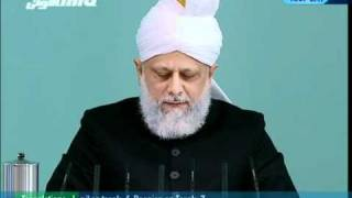 "(Tamil) Friday Sermon 21st January 2011 ""Honour of the Holy Prophet(saw) and blasphemy law"""