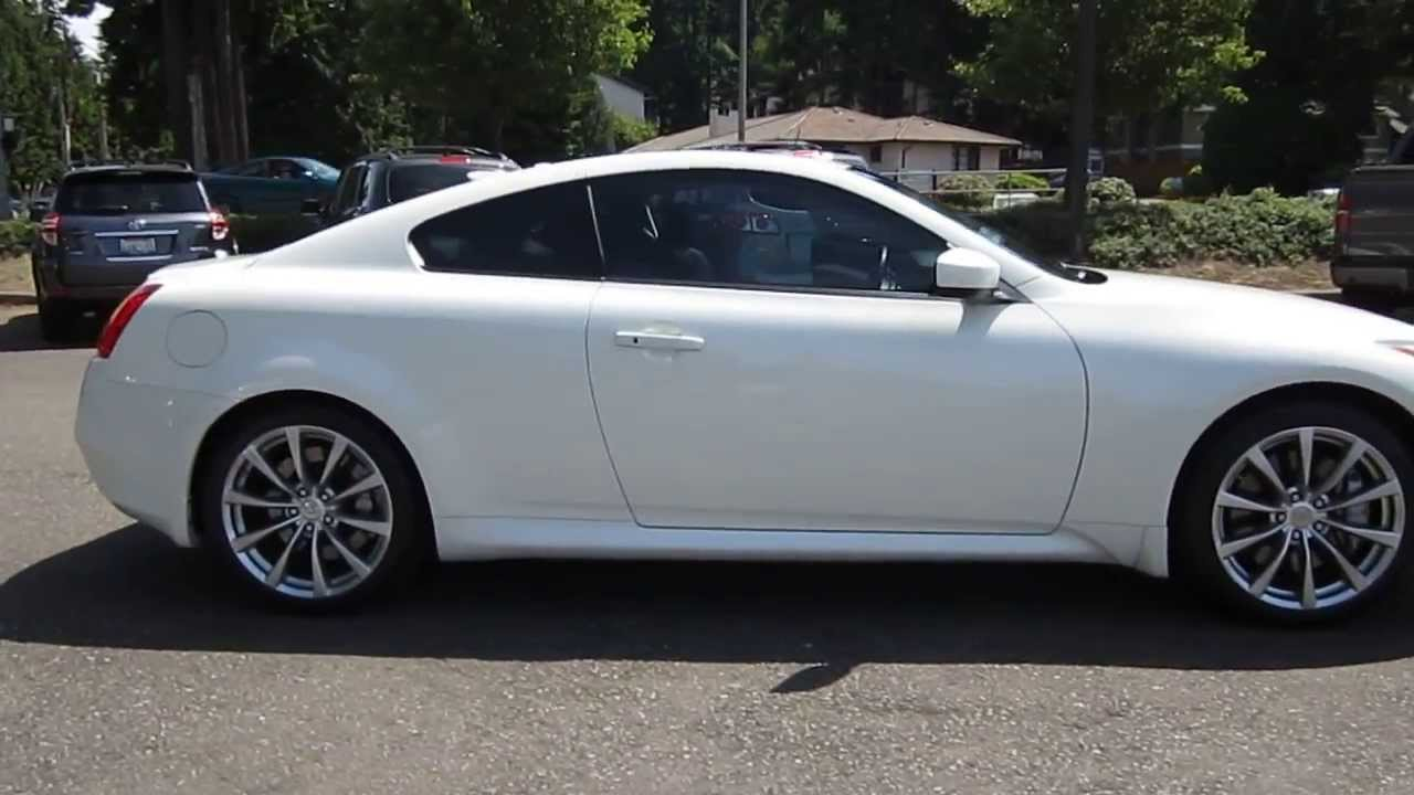 2008 Infiniti G37 White Stock 5157b Walk Around