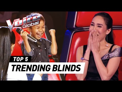 The Voice Kids | TRENDING Blind Auditions you've never seen before