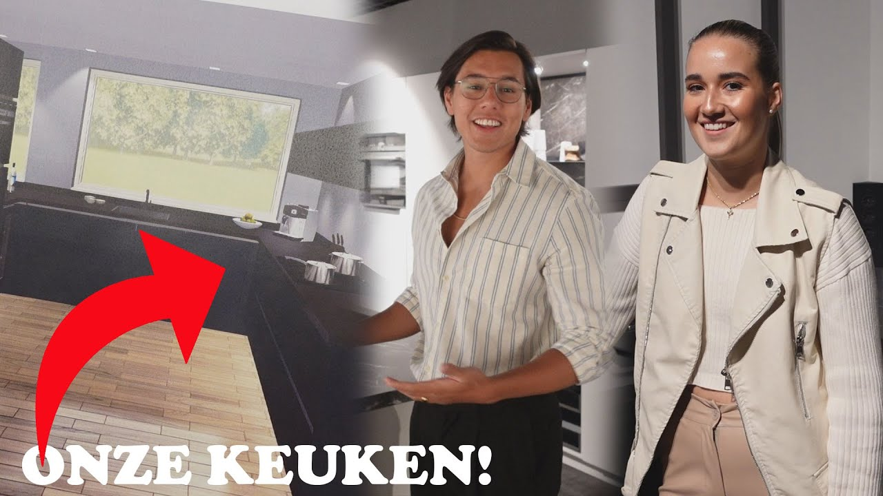 DIT WORDT DE KEUKEN VAN ONS NIEUWE HUIS!
