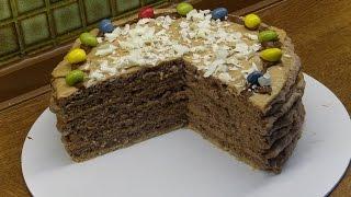 Nuss Karamell Torte