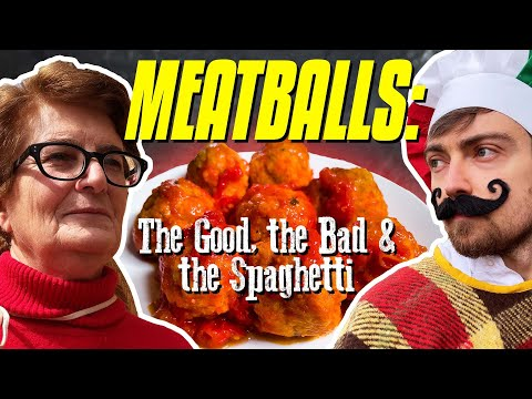 How to Make MEATBALLS: The Good, The Bad & The Spaghetti - Pasta Grammar