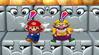 Mario Party 10 Minigames - Mario vs Peach vs Donkey Kong vs Wario (Master CPU)