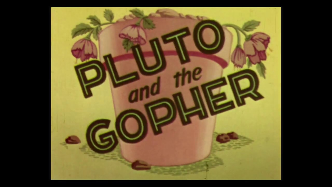 Pluto – Pluto and the Gopher (1950) – original RKO titles ...