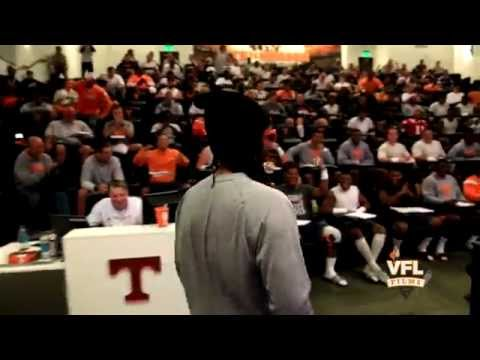 Lil Jon visits Tennessee Vols Football & Butch Jones