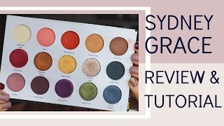 Sydney Grace Review: Autumn's Reign Eyeshadow Palette | Bailey B.