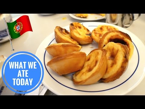 Best Portuguese Custard Tarts In The World?! (Day 4) | Food Diaries: What We Ate Today - Yum It