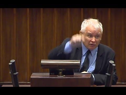 """Jarosław Kaczyński do opozycji """"Nie wycierajcie swoich mord zdradzieckich nazwiskiem mojego brata!"""""""