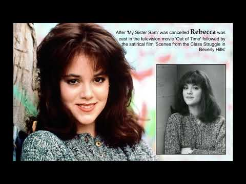 REBECCA SCHAEFFER - In Memoriam (1967-1989) / A Video Tribute - MY SISTER SAM (PAM DAWBER)