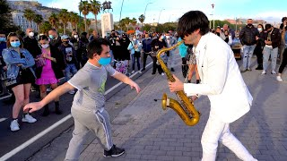 """Download """"We Don't Talke Anymore 💔"""" - STREET SAX PERFORMANCE"""
