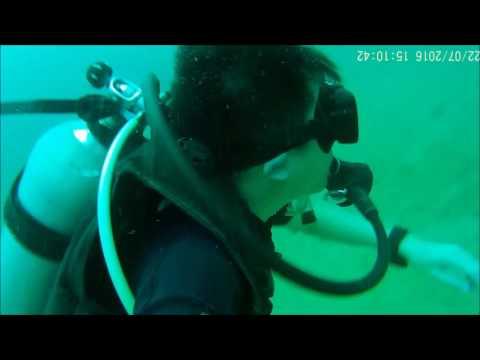 adrian PADI Open Water Course Kota Kinabalu 2016