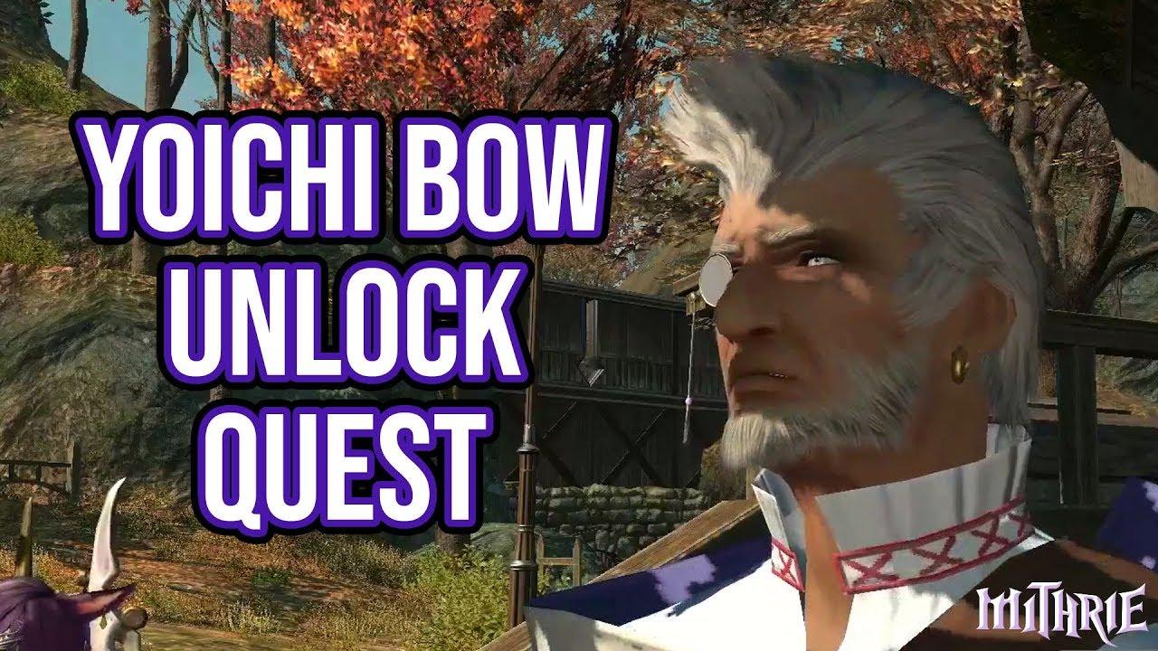 FFXIV 2 5 0544 Bard Relic: Yoichi Bow Unlock Quest - Mithrie