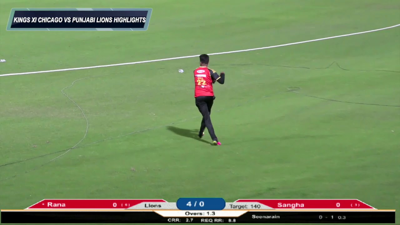 US OPEN CRICKET 2018 - KINGS XI CHICAGO VS PUNJABI LIONS HIGHLIGHTS