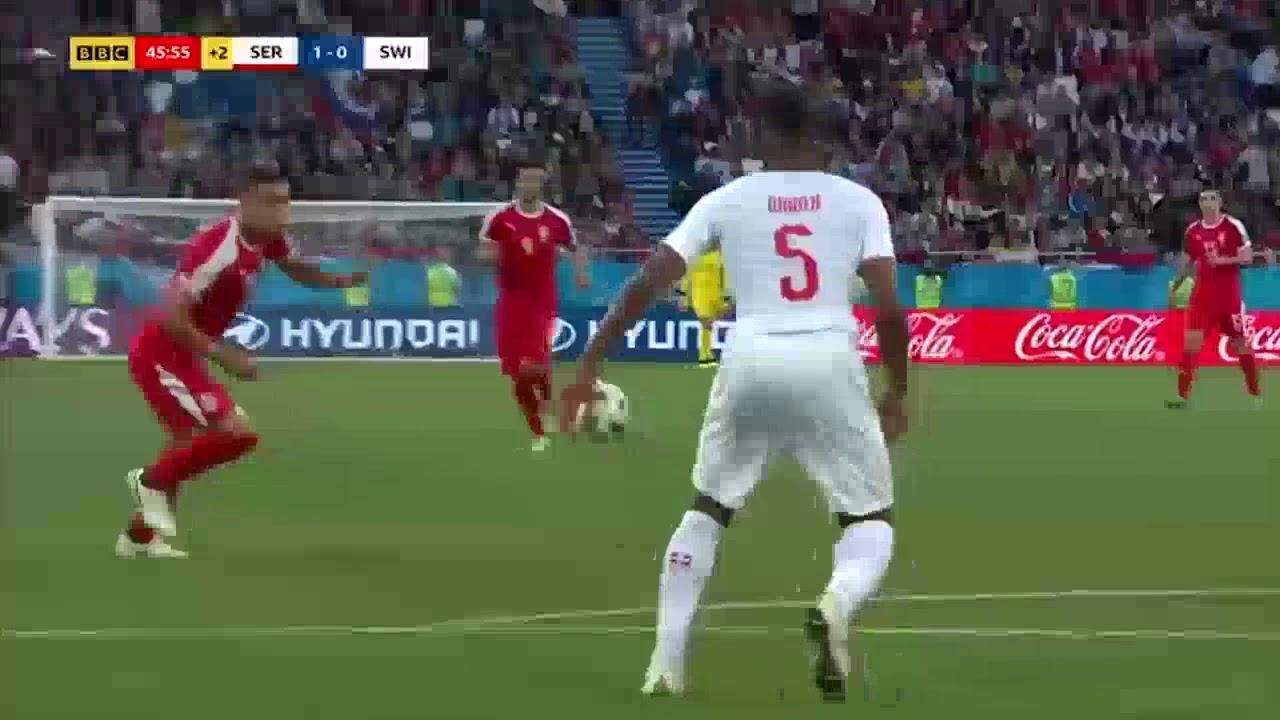 Juniorbola - Cuplikan Goal Serbia 1 - 2 Swiss Piala Dunia