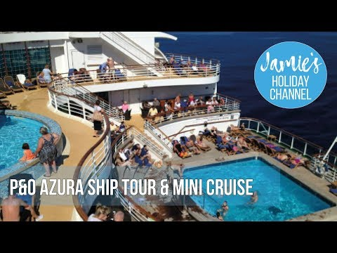 P&O Azura ship cruise and tour (Guernsey)