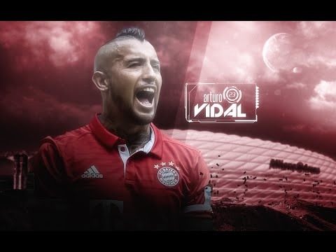 "Arturo Vidal - ""The King"" / Skills, Goals - Bayern München and Chile 