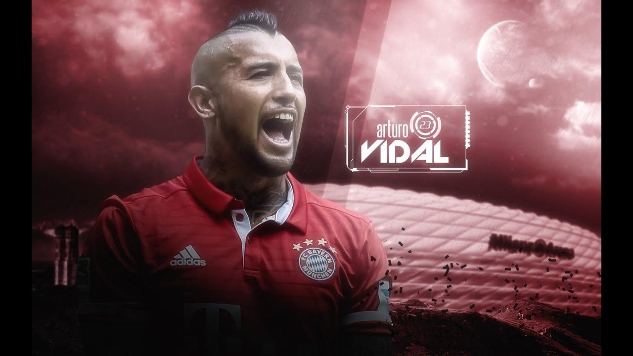 "Arturo Vidal ""The King"" Skills Goals Bayern München and"