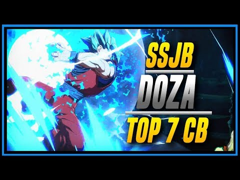 DBFZ ➤ Doza Reached Top 7 At Combo Breaker 2018 [ Dragon Ball FighterZ ]