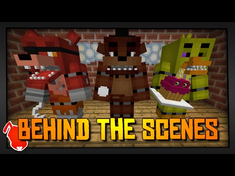 MINE Nights At Freddy's | Behind The Scenes - Redstone / Technical Stuff!