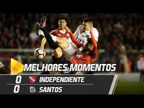 Independiente 0 x 0 Santos | MELHORES MOMENTOS | Libertadores (21/08/18)