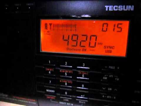 4920 Khz, All India Radio Chennai