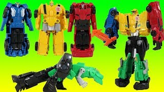 Transformers Ultra Bee Robots in Disguise Combiner Force! Bumblebee, Grimlock, Sideswipe, Strongarm!