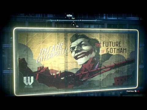 Batman Arkham Knight:  Environmental Hallucinations