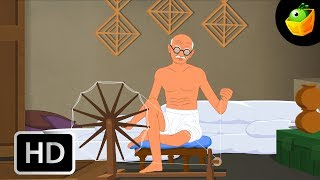 Gandhi - Chellame Chellam - Cartoon/Animated Tamil Rhymes For Chutties