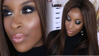 Full Glam Night Out Makeup ♡ Hair Tutorial! | Jackie Aina