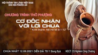 HTTL PHƯỚC AN - Chương trình thờ phượng Chúa - 12/09/2021