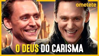 Como o carisma de Tom Hiddleston sa...