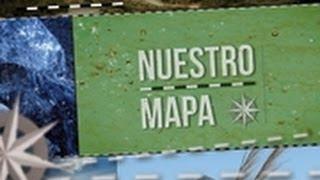 Nuestro Mapa. Las sierras de Misiones.