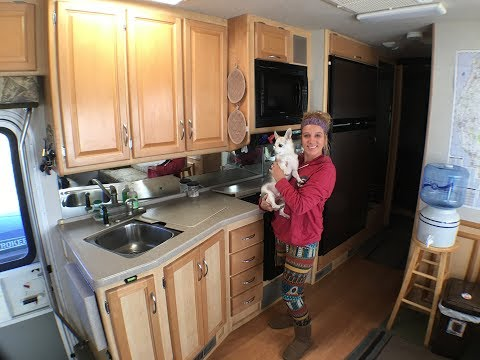 A tour of our tiny house on wheels/new, full time rving