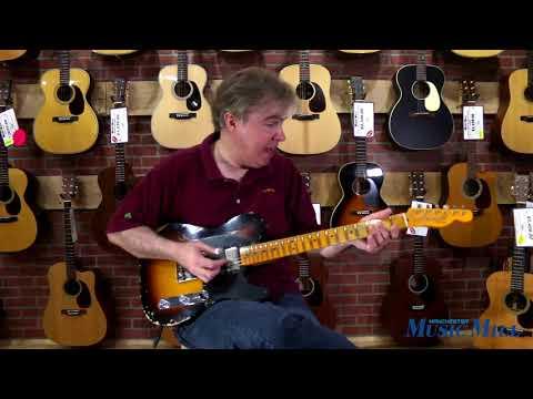 Fender Custom Shop '51 Heavy Relic HS Telecaster Sunburst DEMO - Manchester Music Mill