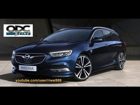 new 2017 opel insignia sports tourer opc line color options hd youtube. Black Bedroom Furniture Sets. Home Design Ideas