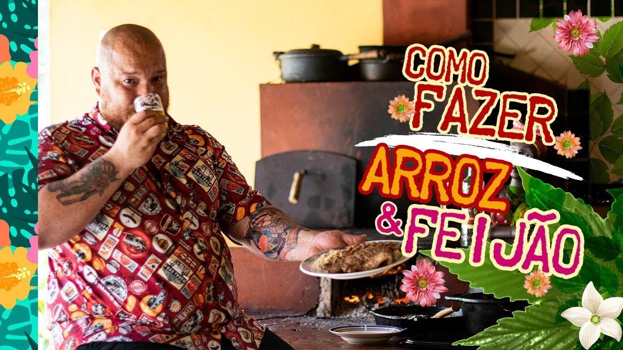 Como fazer arroz e feijão PERFEITOS!!! - Cansei de ser chef