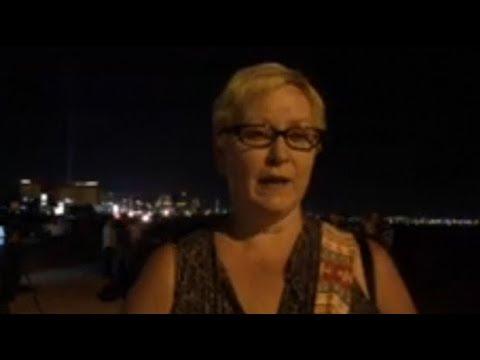 Eyewitnesses describe moment gunman fired at concert-goers in Las Vegas